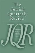 JQR Cover