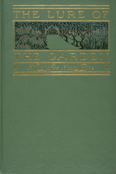 86-HAWTHORNE-LURE OF THE GARDEN COVER-WINTERTHUR SB455 H39