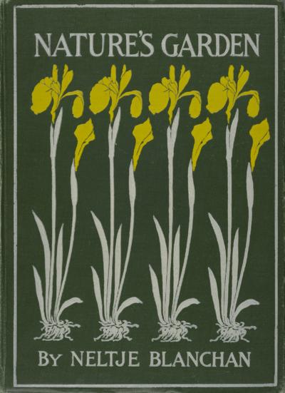 85-NELTJE BLANCHAN-NATURES GARDEN COVER-WINTERTHURQK118 B63