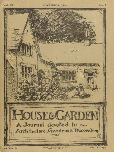 79-HOUSE AND GARDEN COVER v6 no 5-WINTERTHUR